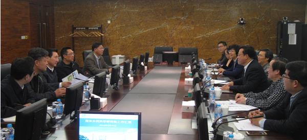 张建云院长一行访问中国长江三峡集团公司